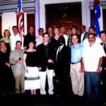 Tampa citizens at the Hotel Nacional in Havana, Cuba in 2013.